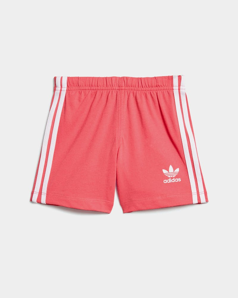 Adidas Infant K Short Tee Set White/Pink