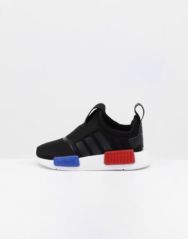 on sale 53d5a 97323 Adidas Toddler NMD 360 I Black/Black/White