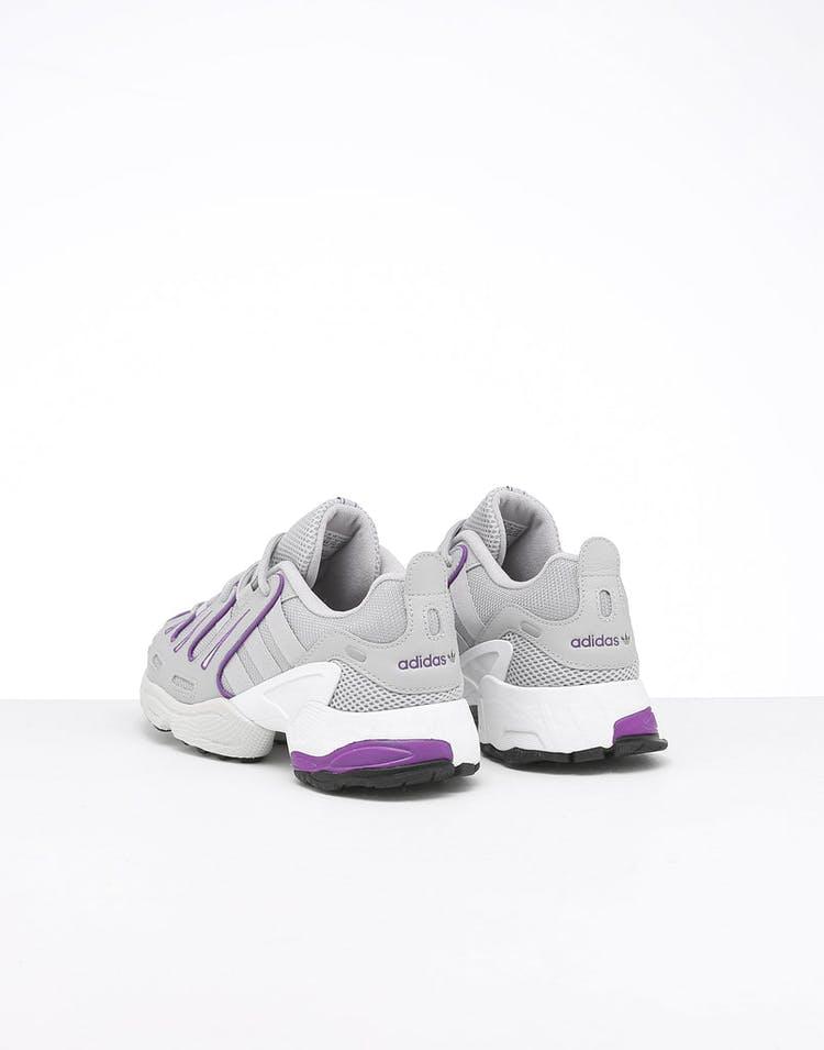 save off af310 4e817 Adidas Women's EQT Gazelle Grey/White/Purple