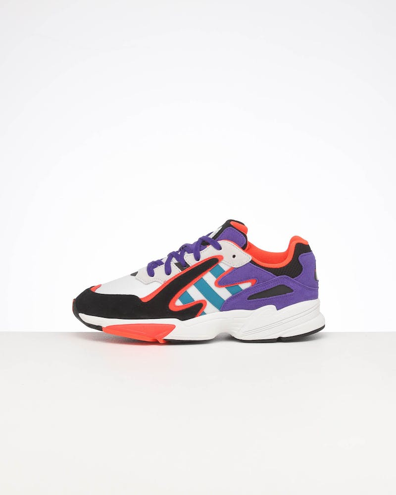 ADIDAS YUNG-96 CHASM WHITE/MULTI-COLOURED