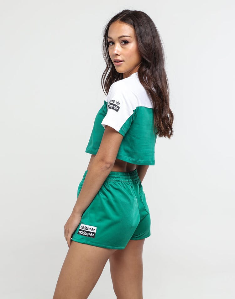645655d838 Adidas Women's Cropped Tee White/Green
