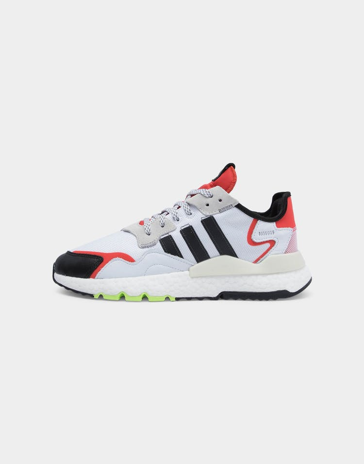 Adidas Men's Nite Jogger White/Black/Red