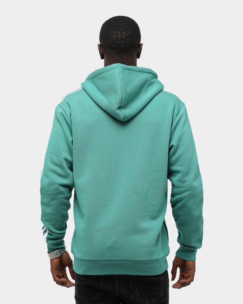 Adidas Men's 3 Stripes Hoodie Future Hydro