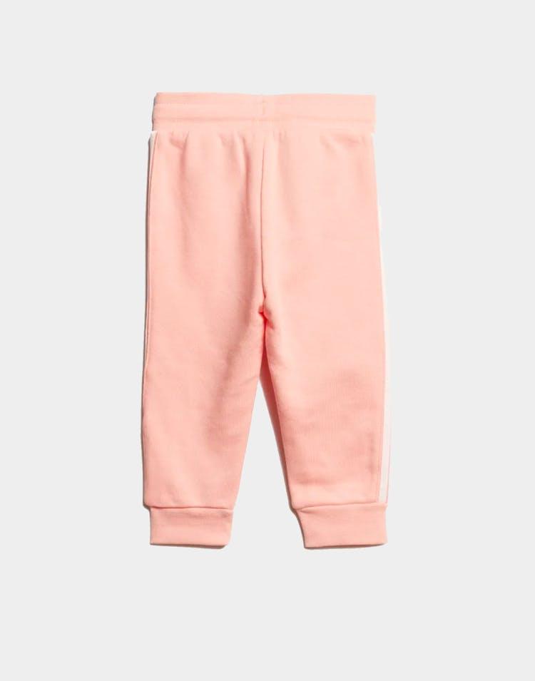 Adidas Kids Lock Up Hoodie Set PinkWhite