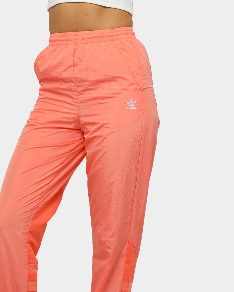 Adidas Women's Large Logo Trackpant Chalk Coral