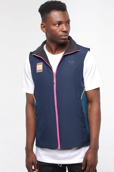 Adidas Reversible Vest Black/Multi-Coloured
