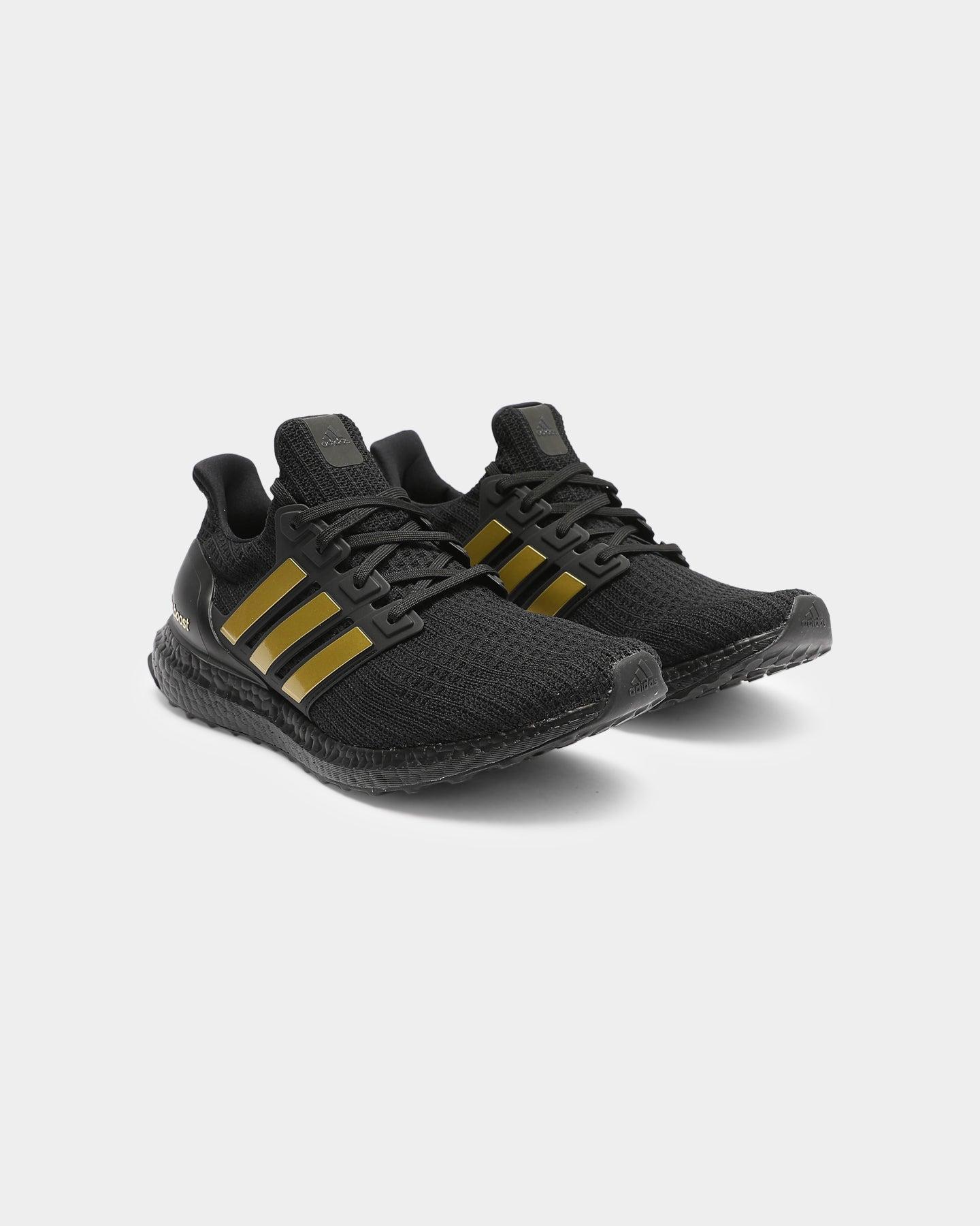 Adidas Men's Ultraboost 4.0 DNA BlackGoldBlack