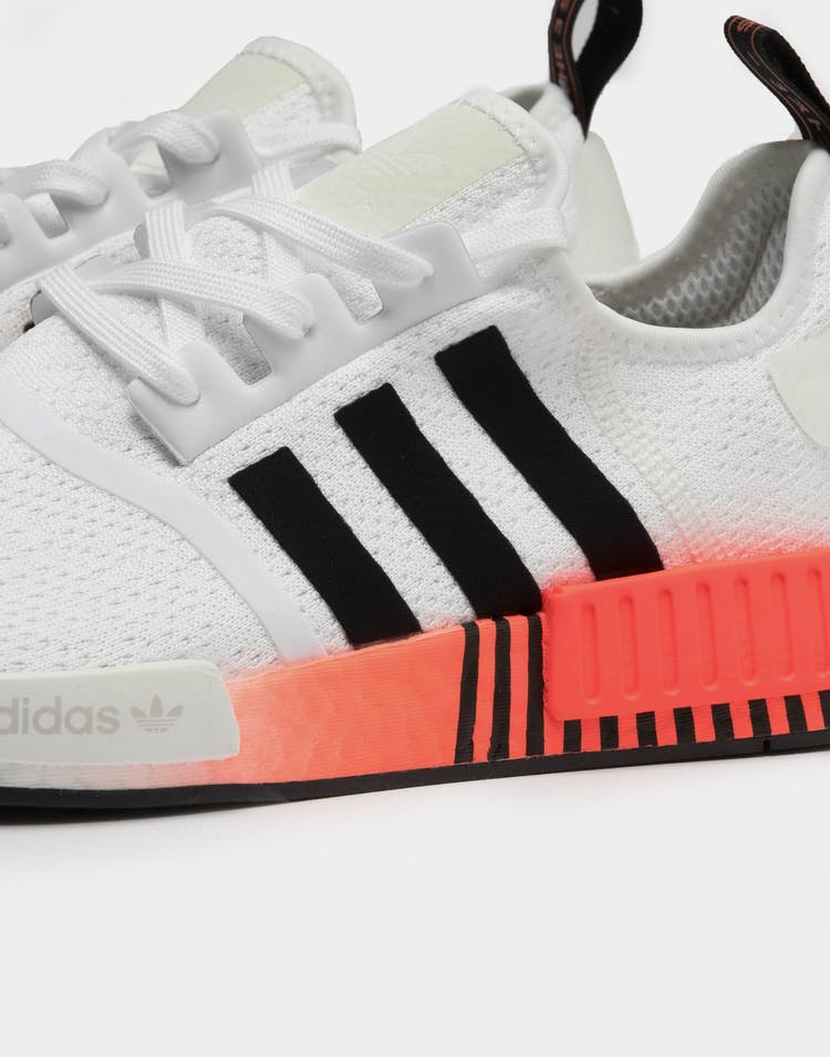 Adidas Men's NMD_R1 White/Black/Red