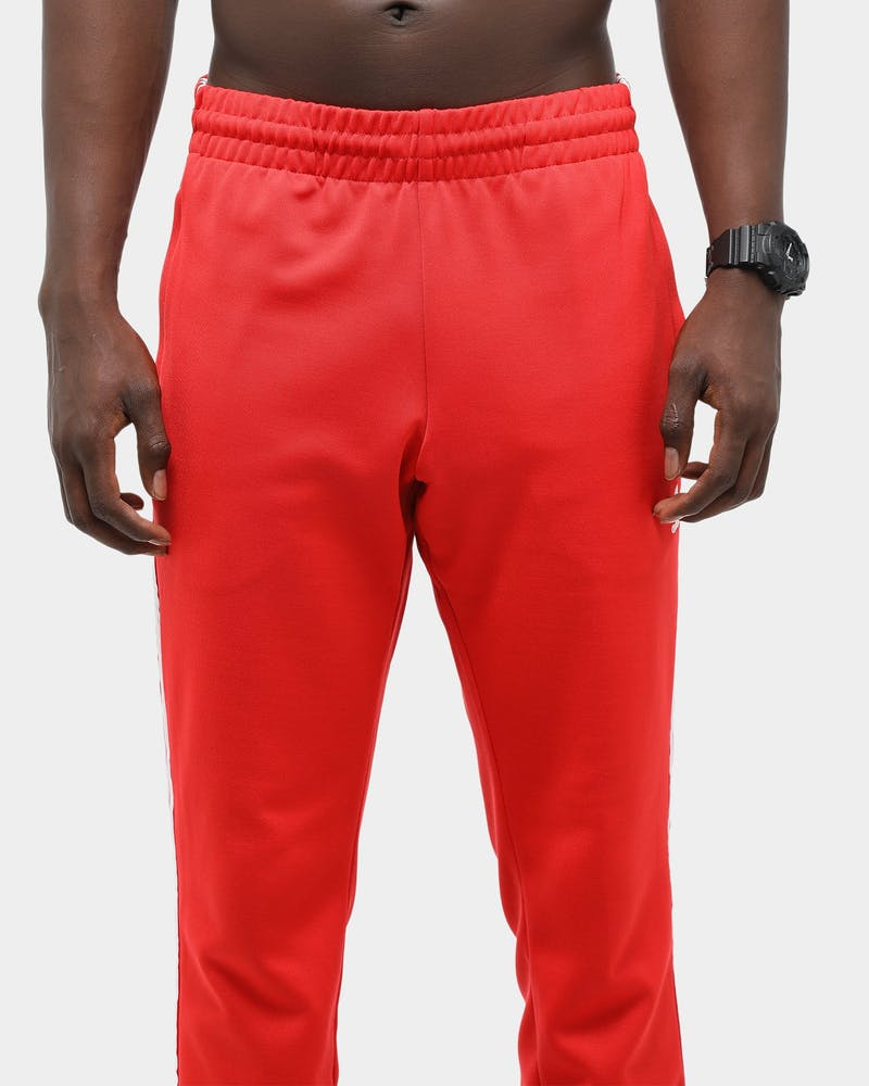 Adidas Men's SST Track Pant Red/White