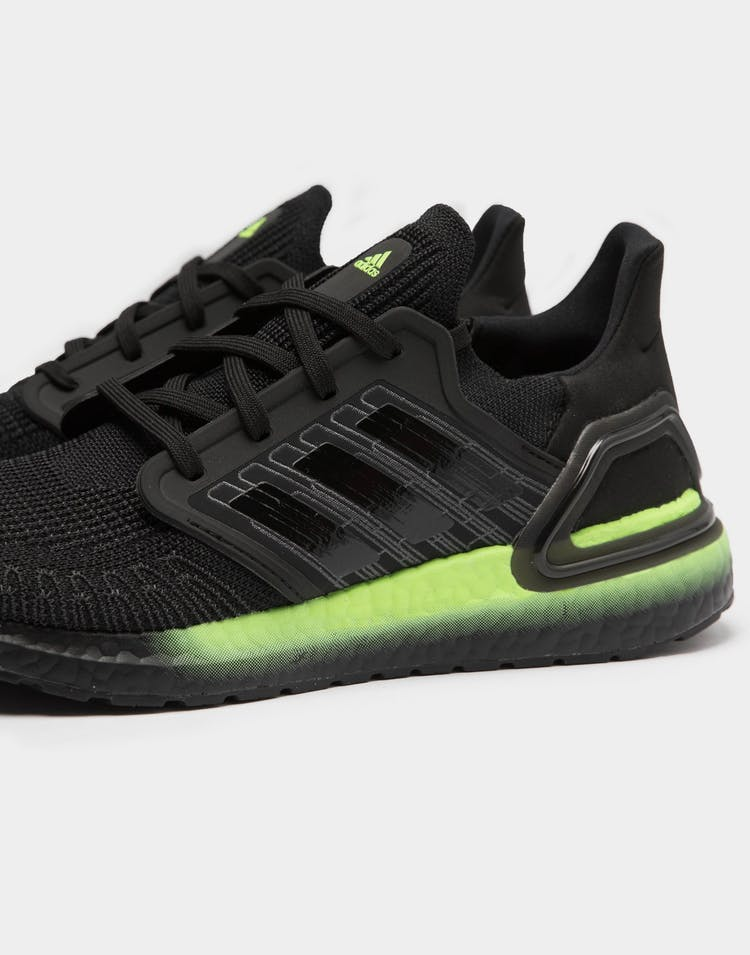 Adidas Men's Ultraboost 20 Black/Green