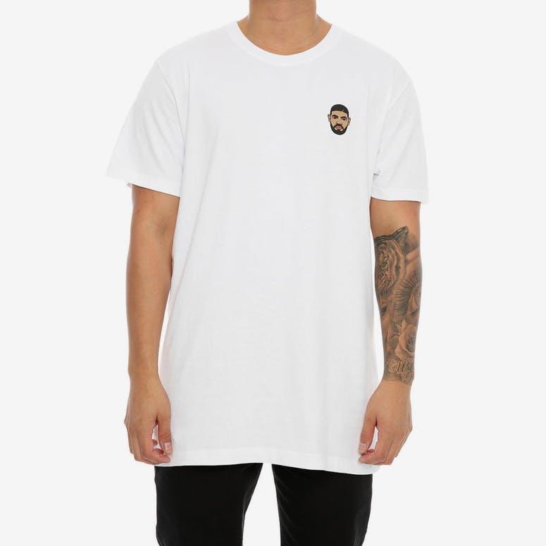 Goat Crew Drake Mini Head T White – Culture Kings 03b1382d7b97