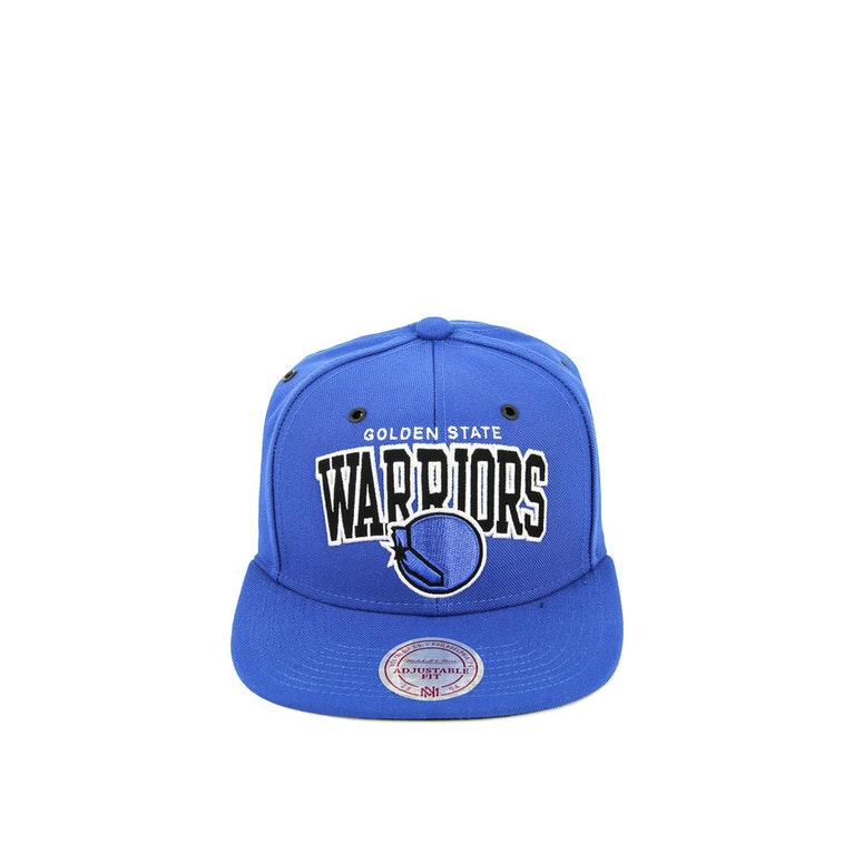 Mitchell & Ness Warriors B&w Arch Snapback Royal