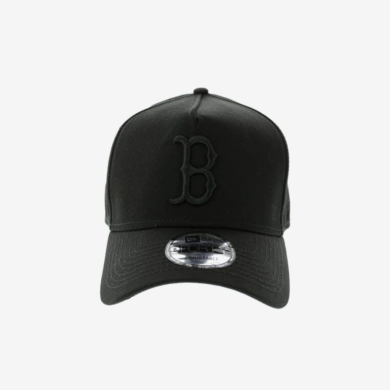 bf21e0a9b1c New Era Red Sox 940 A-frame Snapback Black black – Culture Kings