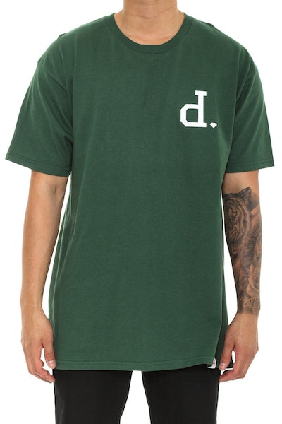 Diamond Supply UN Polo Heavyweights Tee Forest Green