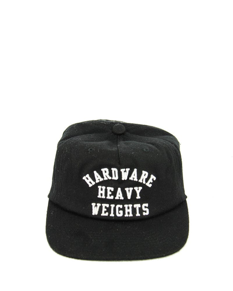 Diamond Supply Hardware Heavyweights Snapback Black