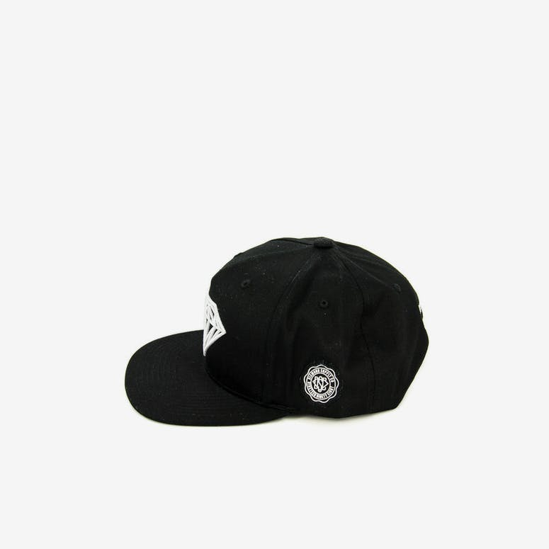 Diamond Supply Brilliant Snapback Black
