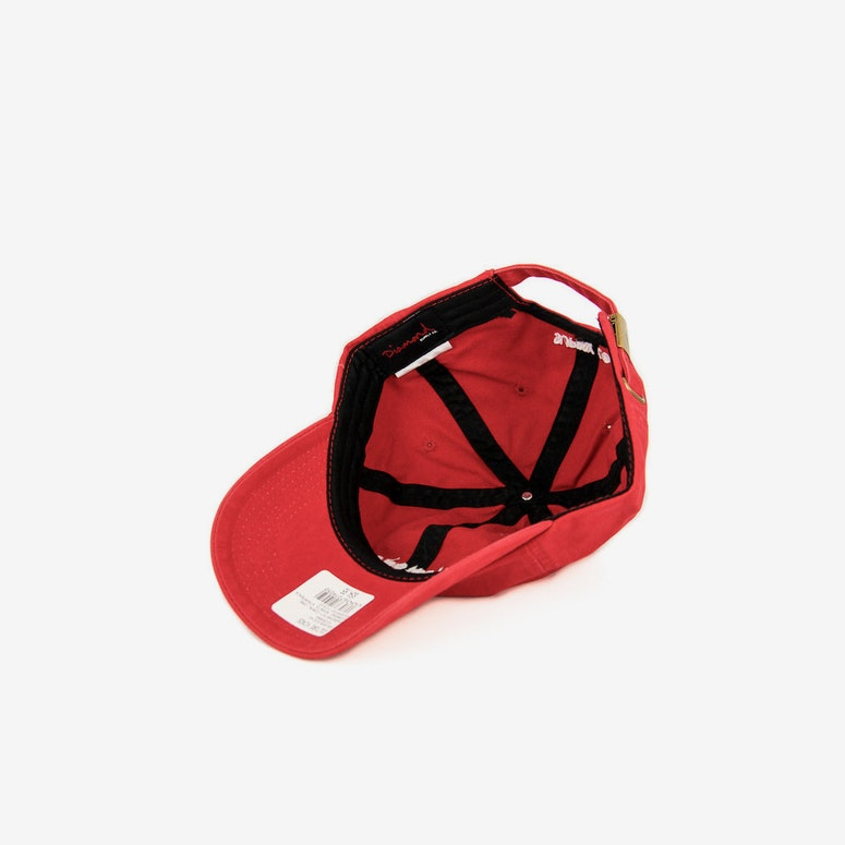 Diamond Supply Diamond Sports Strapback Coral