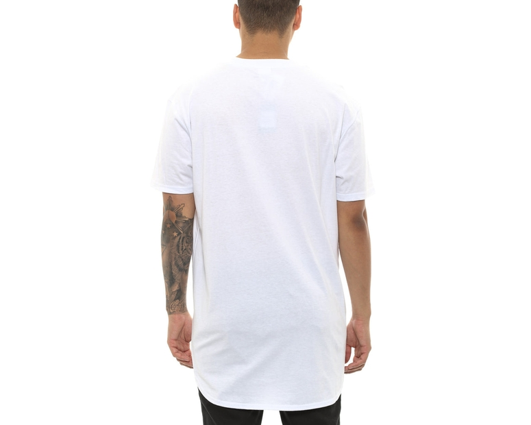 Cocaine & Caviar Scallop Tee White
