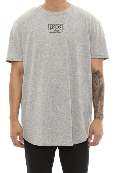 Criminology 101 Scallop Tee Grey