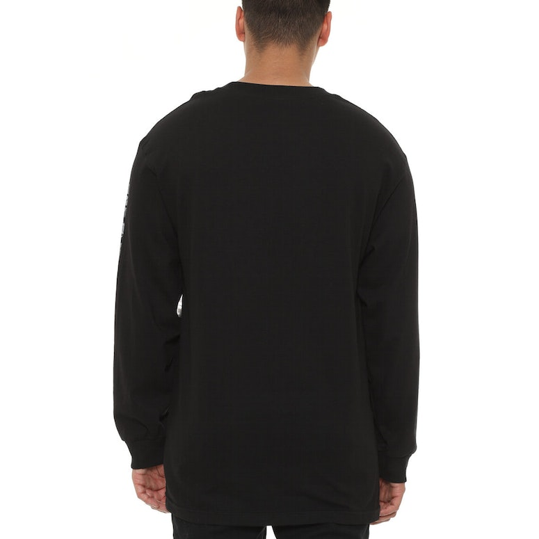 Worldwide Line Long Sleeve Black