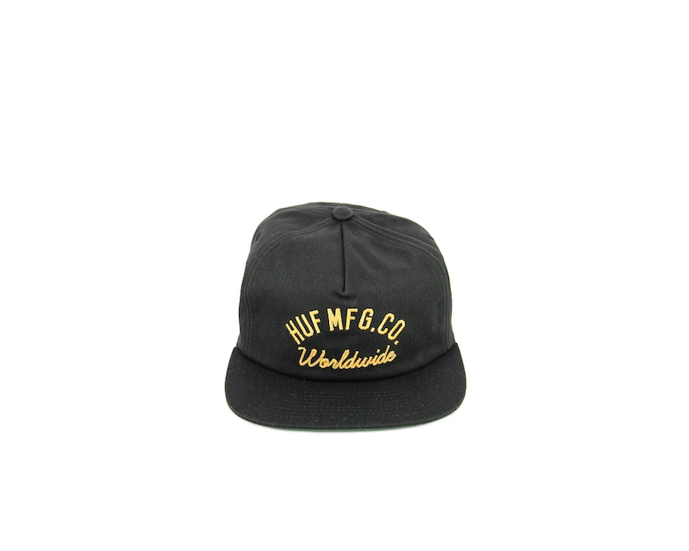 Mechanics Snapback Black