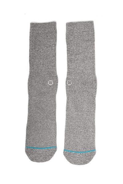 Stance Icon Athletic Sock Grey Heather