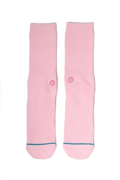 Stance Icon Athletic Sock Pink