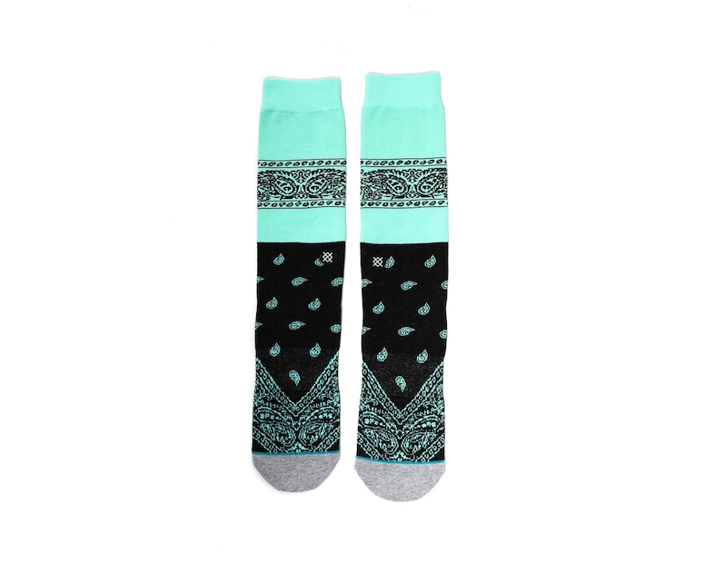 Stance Represent Sock Mint Green
