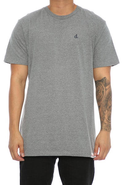 Diamond Supply Micro UN Polo Tee Grey