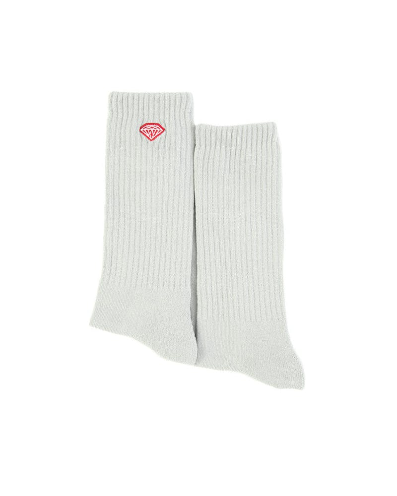 Diamond Supply Brilliance High Top Sock Grey
