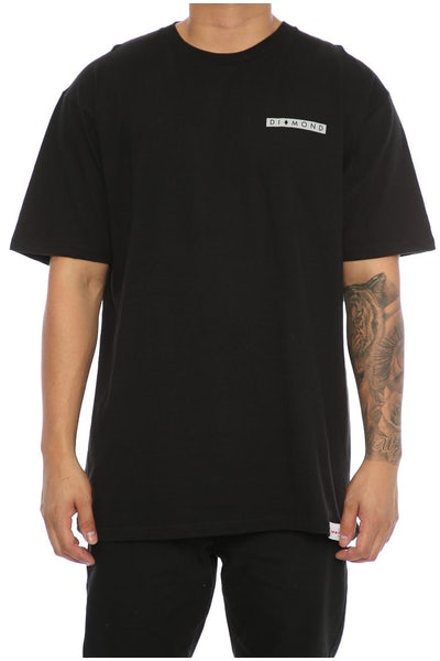 Diamond Supply Marquise Tee Black