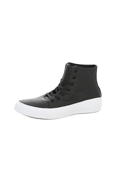 Converse Chuck Taylor Quantum Leather HI Black/white