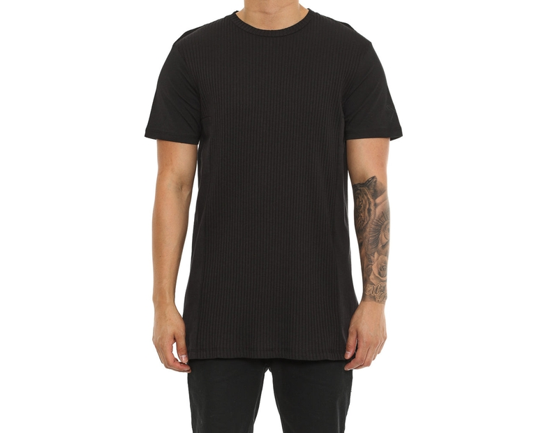 King Apparel Channel Tee Black