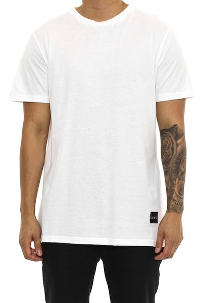 Interlock Tee White