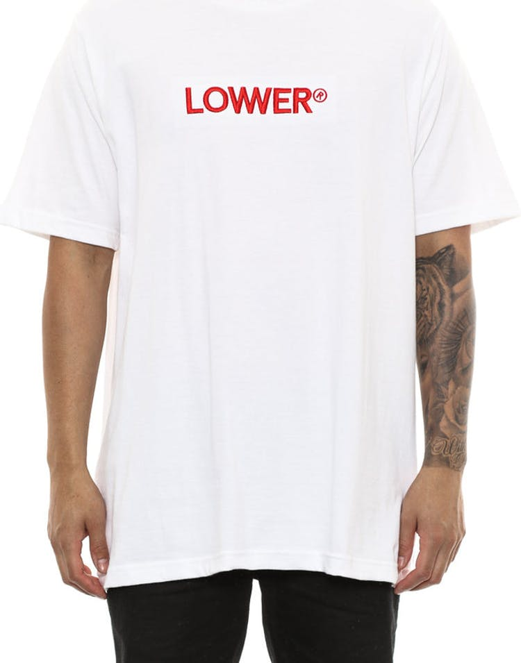 Lower Triple U Qrs Tee White