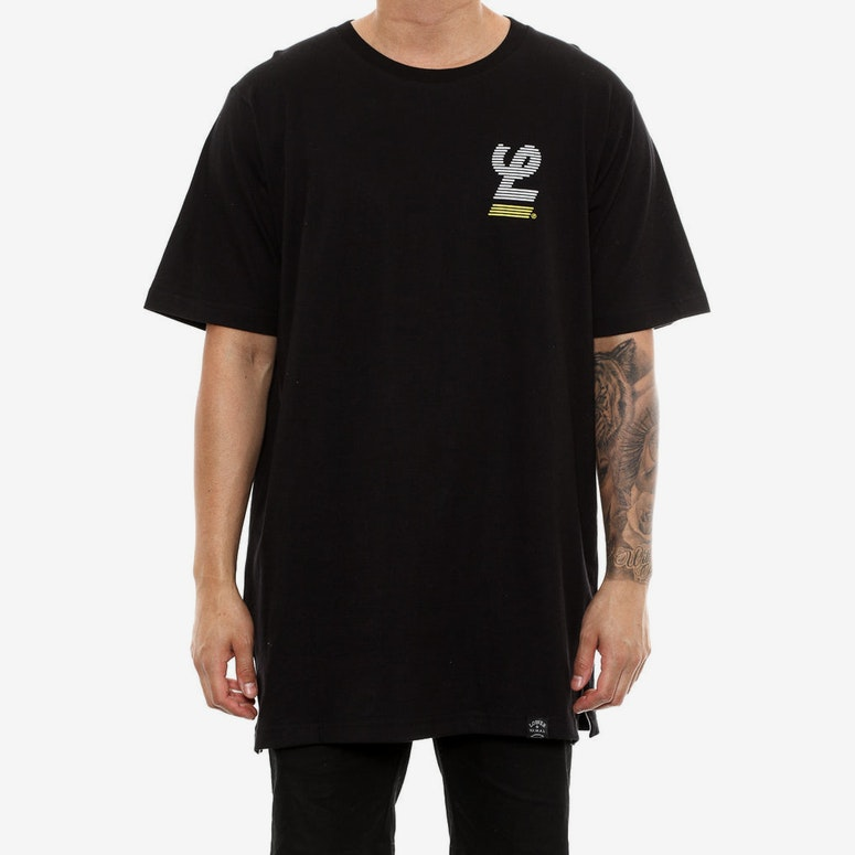 Lower Blinds Layer Tee Black