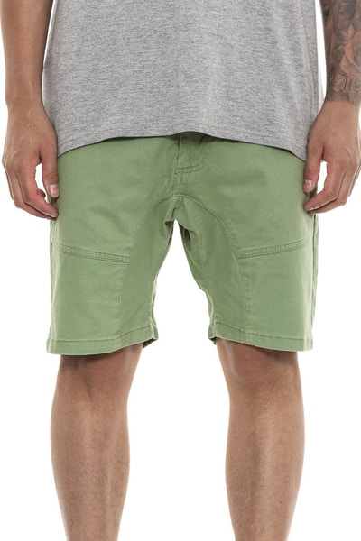 Nena and Pasadena Commander Short Army Green