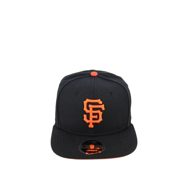 New Era Giants Original Fit Snapback Navy/orange