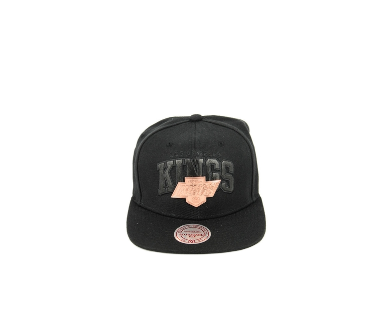 Mitchell & Ness Kings Gold Arch Logo ST Black