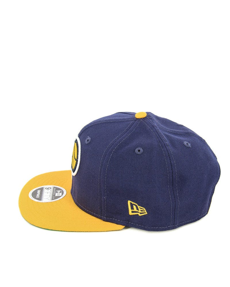 New Era Pacers 90's Original Fit Snapback Navy/gold