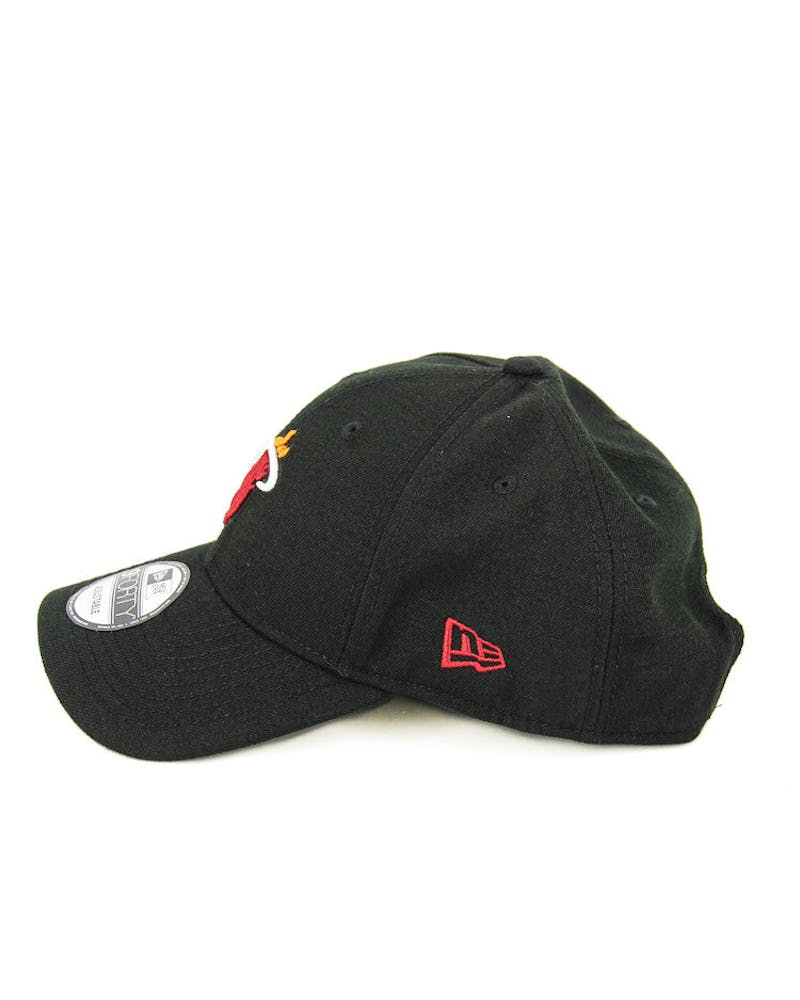 New Era Heat 9FORTY Logo Snapback Black