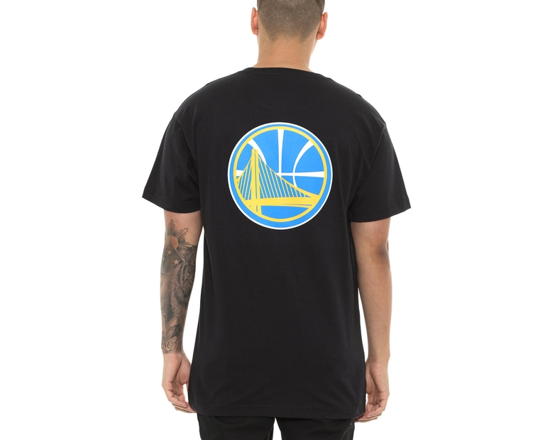 Mitchell & Ness GSW Warriors Triple Double Tee Black
