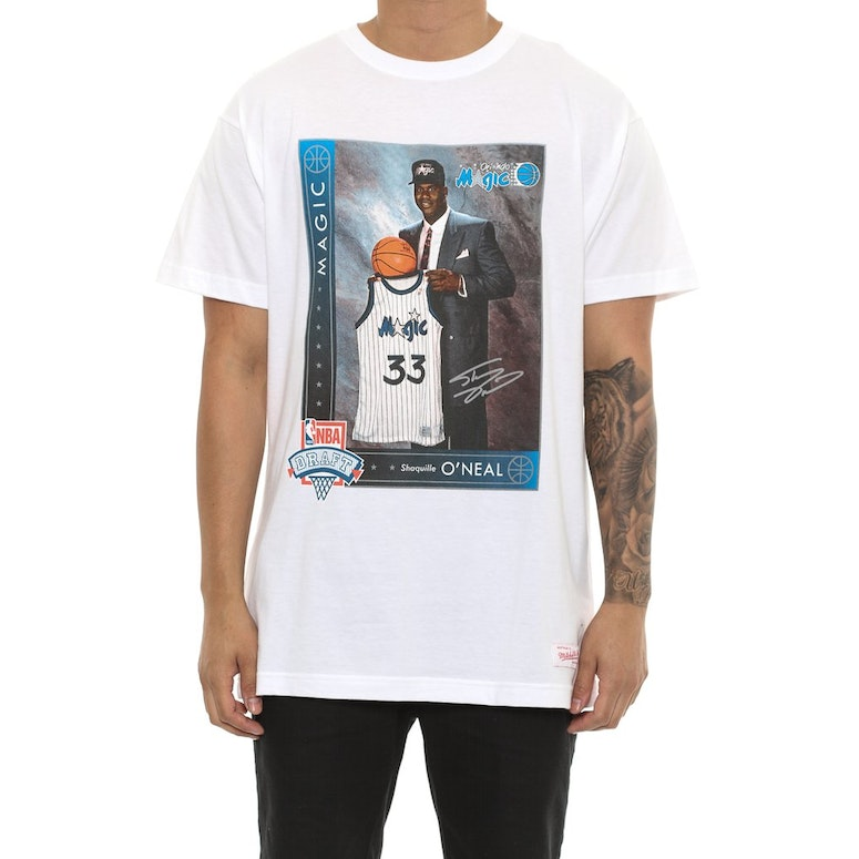 Mitchell & Ness O'neal Draft Day Tee White