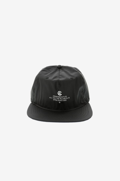 Crooks & Castles Rulers Strapback Black