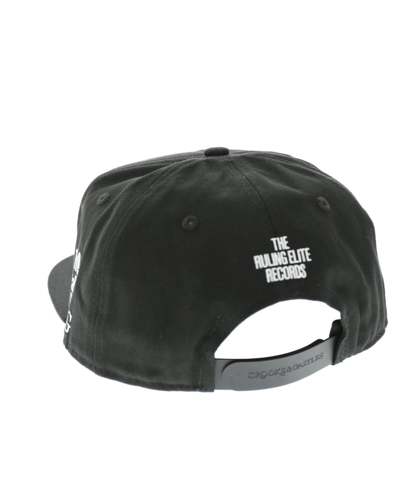 Crooks & Castles Label Snapback Black
