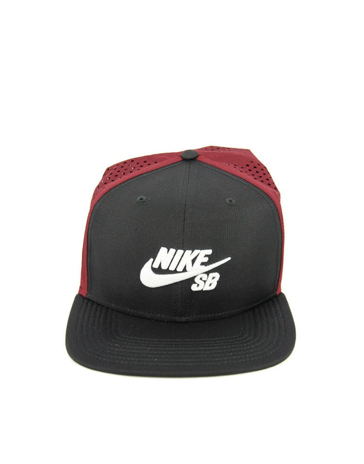 e859593b56f2c Nike SB Performance Trucker Snapback Black red white – Culture Kings