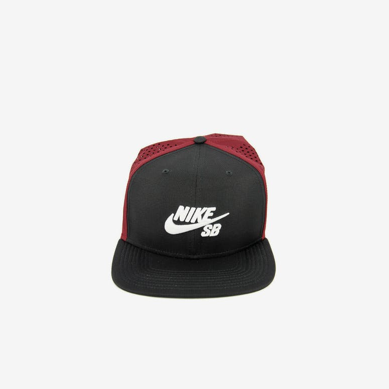 ce6779ea646 Nike SB Performance Trucker Snapback Black red white – Culture Kings