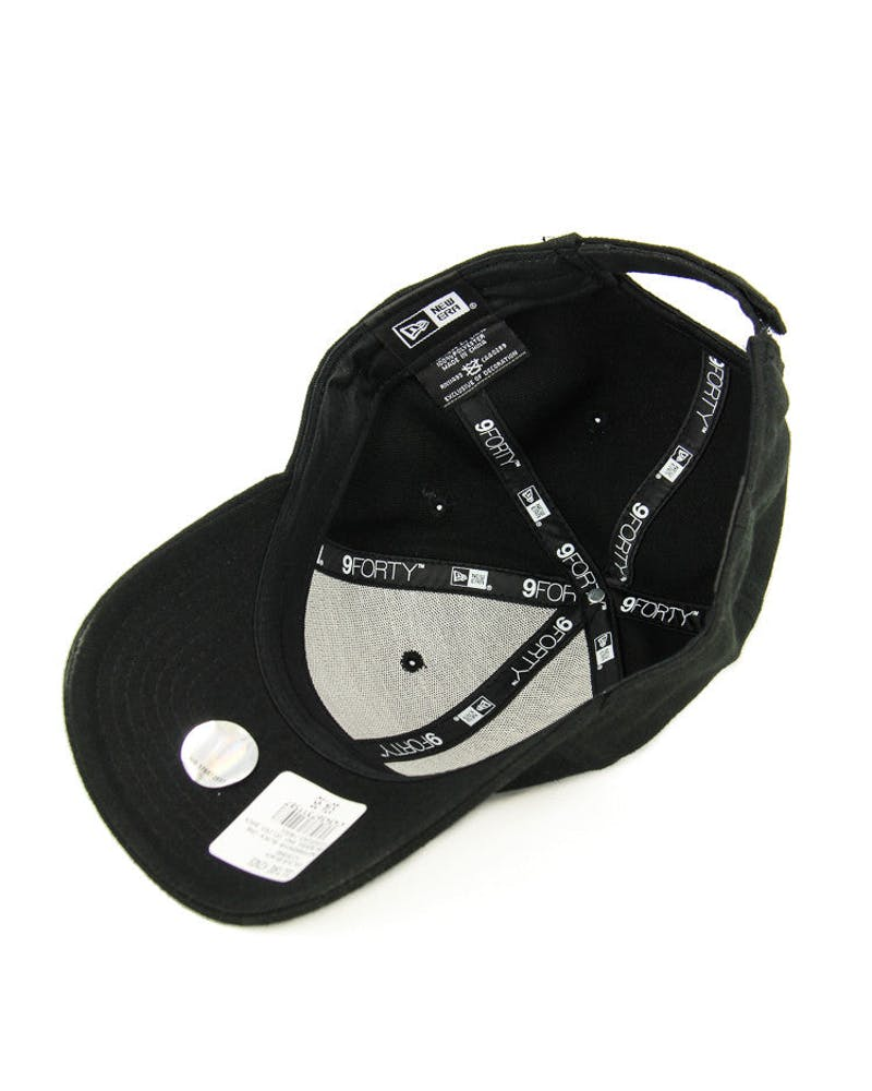 New Era Blazers 9FORTY Velcro Back Black