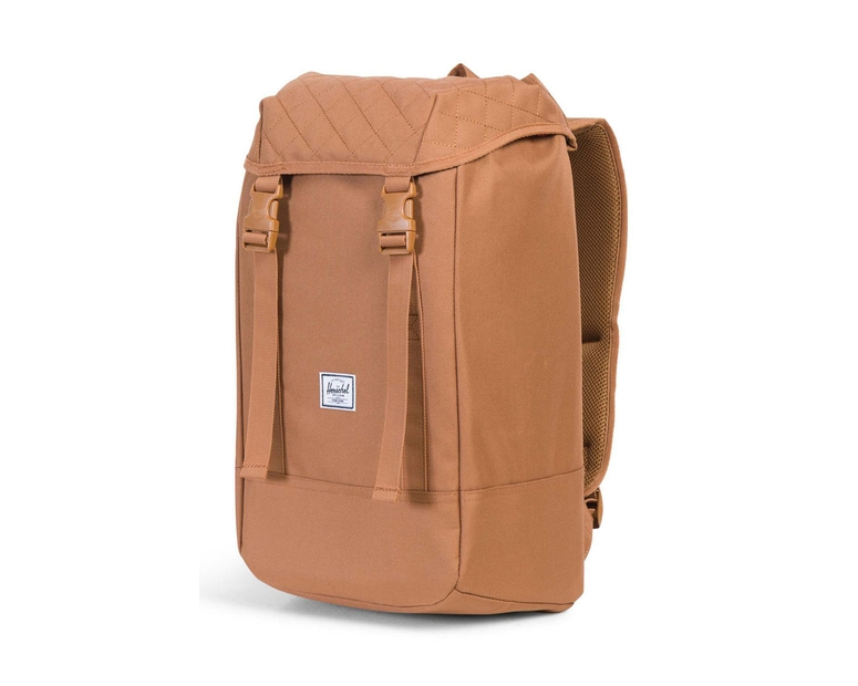 Herschel Bag CO Iona Quilted Backpack Caramel