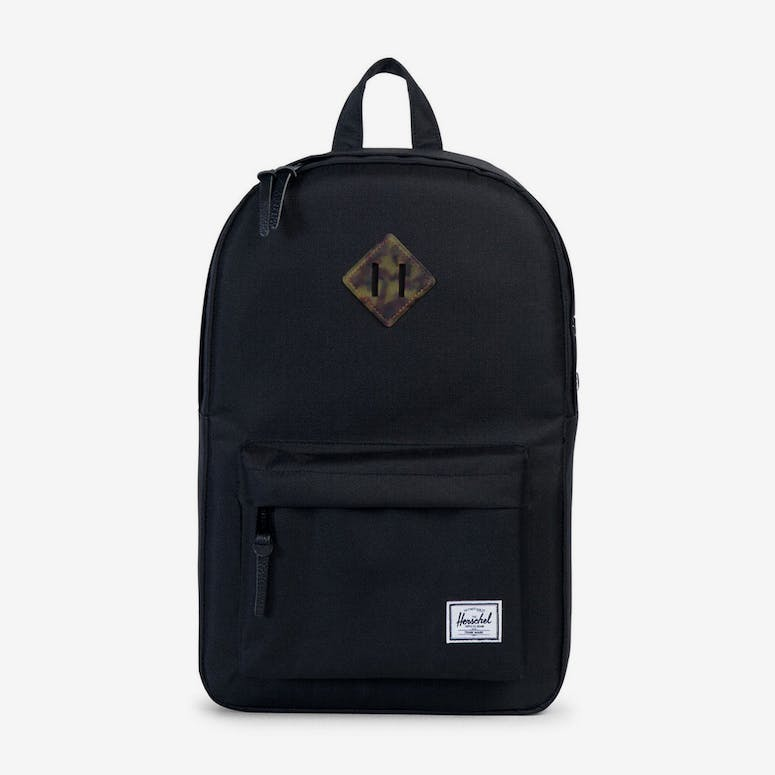 7954f694c2 Herschel Bag CO Heritage Mid-volume Backpack Black tortoise – Culture Kings